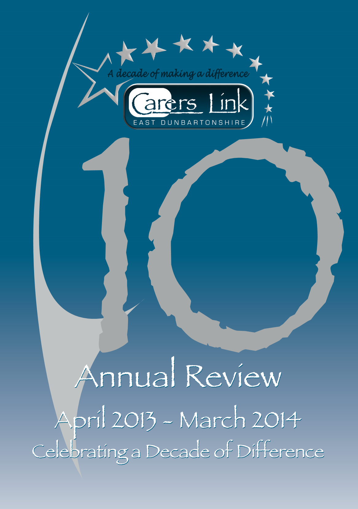 Cover of 2013-14 annual report