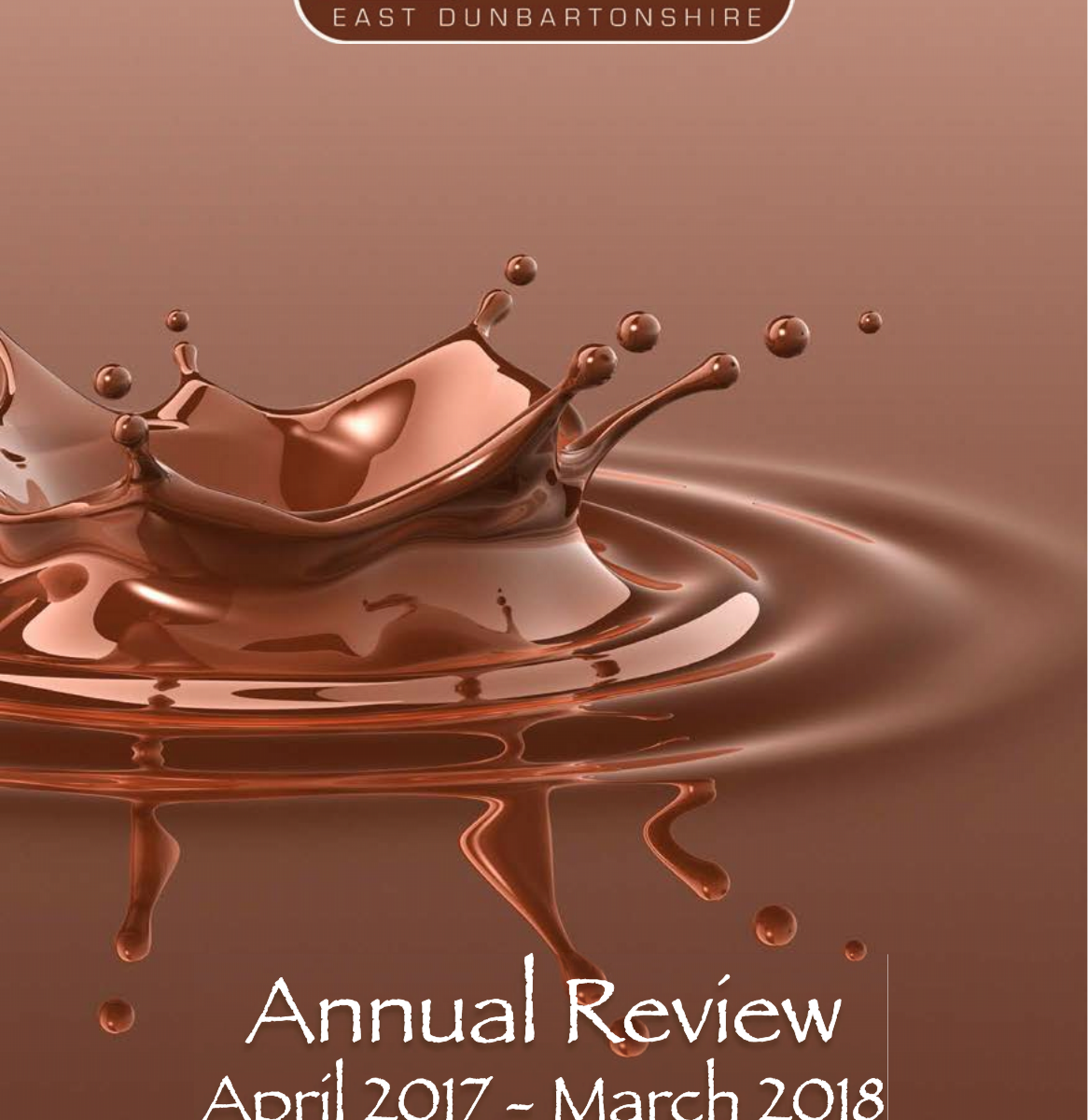 cover of annual report 2017-18