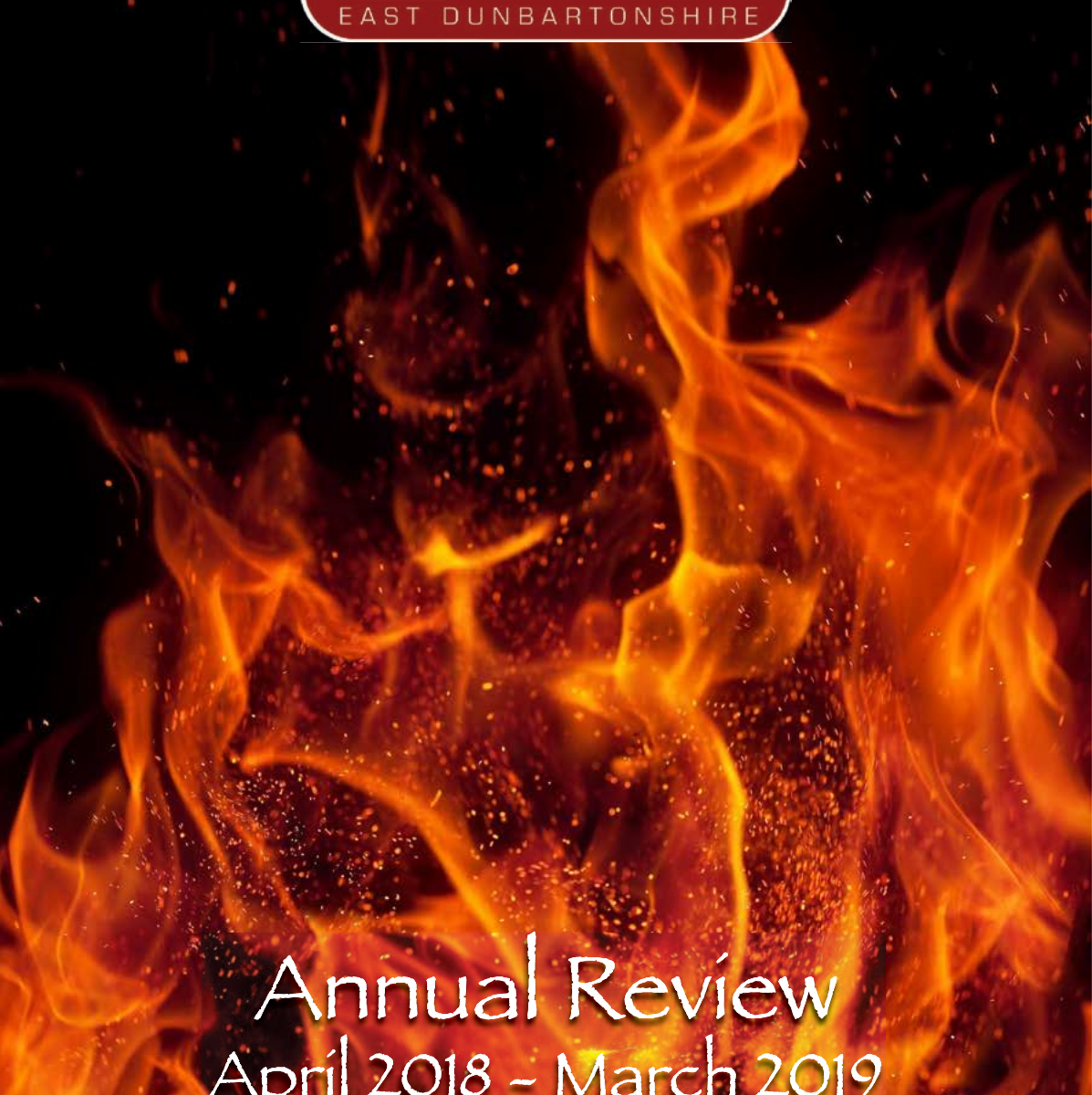cover of annual report 2018-19