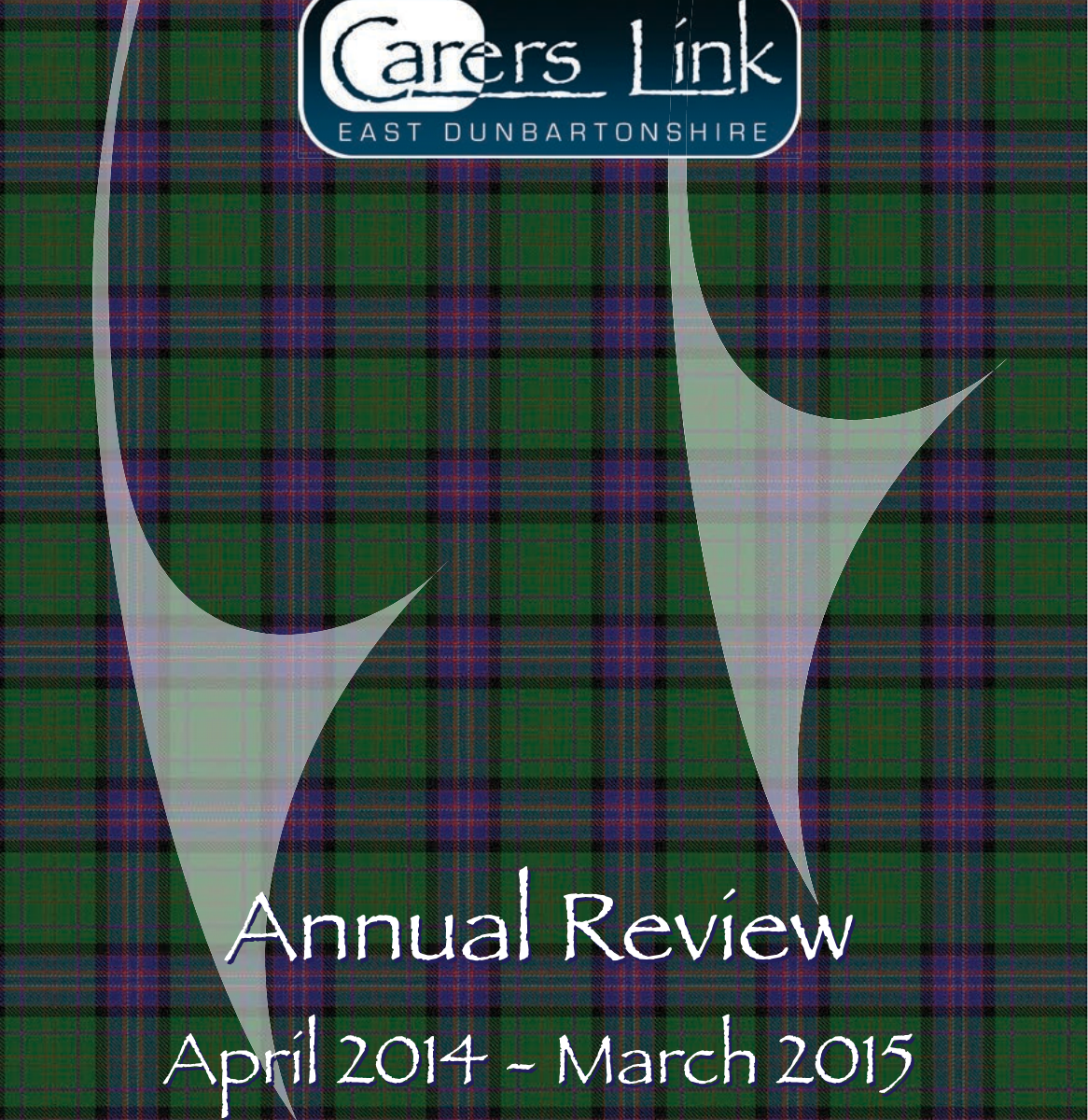 cover of annual report 2014-15