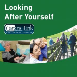Cover of Looking After Yourself booklet