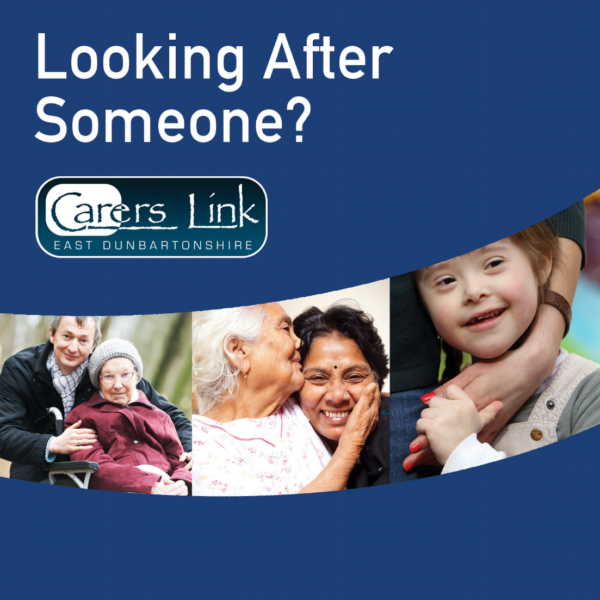 Front cover of Looking After Someone booklet