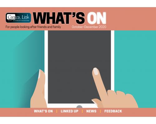 Cover of newsletter October 2020