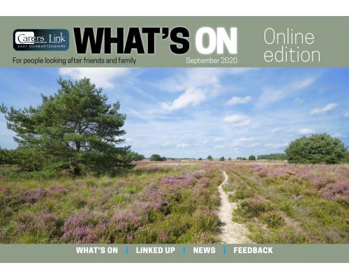 Cover of newsletter September 20